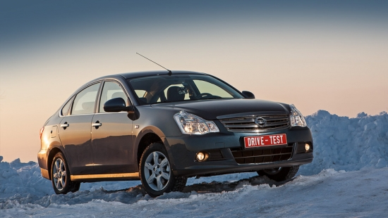 Test Drive Nissan Almera in Norway